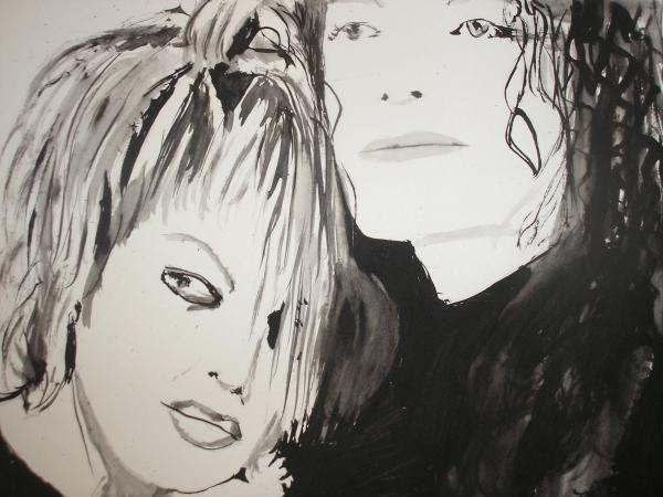 Michael Jackson, Janet Jackson by Coffee58